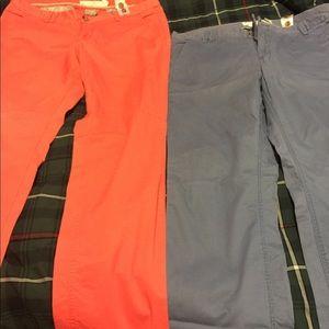 H&M Pants - Two pairs of khaki pants.
